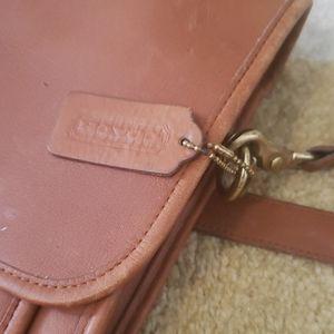 Brown Vintage Coach Briefcase